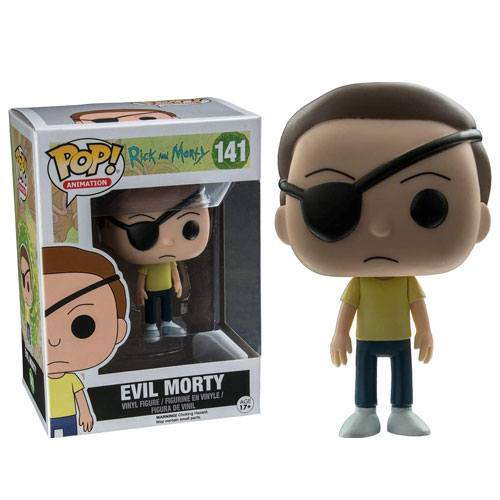 evil morty figurine