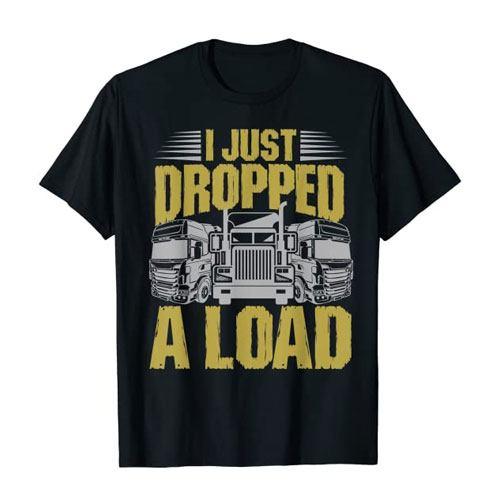 trucker gift t-shirt merchandise