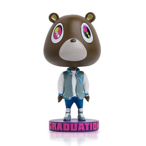 graduation bear bobblehead