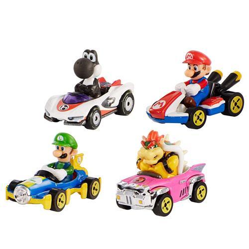 hot wheels mario kart cars