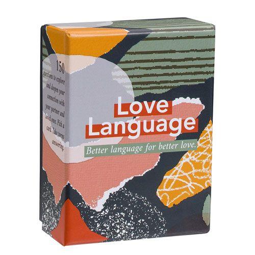love language card game anniversary gift