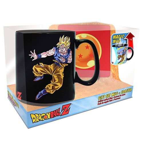 magic goku mug gift set