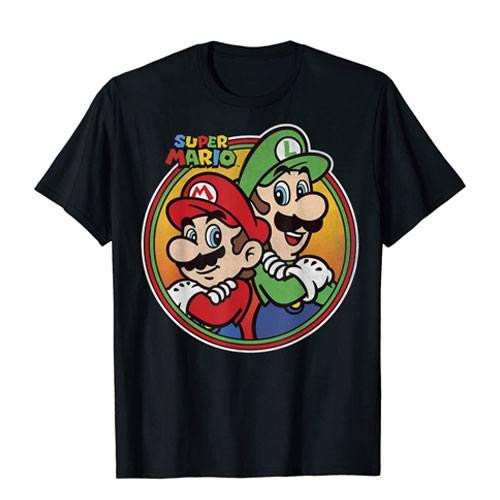 mario & luigi t-shirt apparel