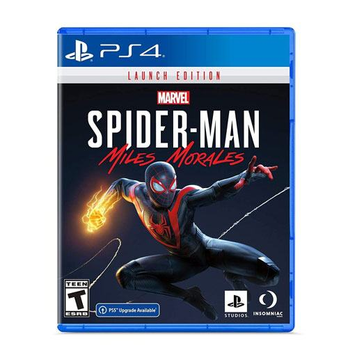 miles morales ps4 game gift