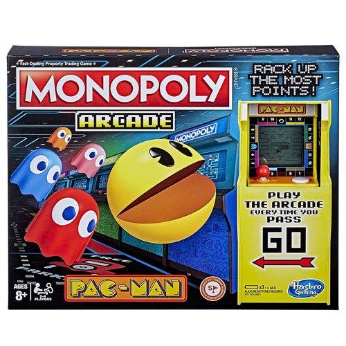monopoly pac-man board game