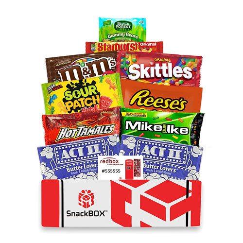 movie snacks car package gift
