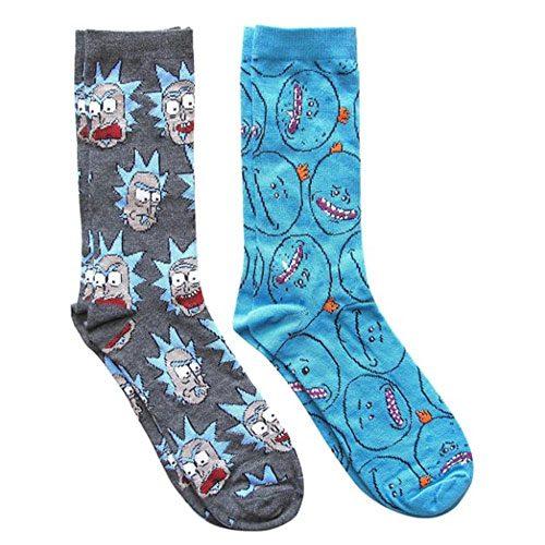 mr meeseeks pattern socks