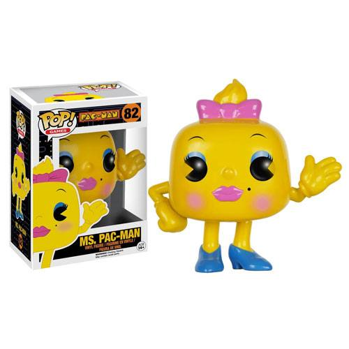 miss pac-man figurine
