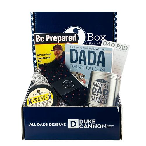 new dad to be gift box