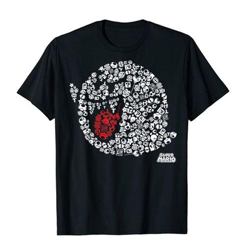 nintendo boo graphic shirt