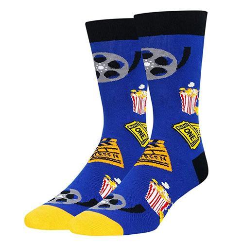 novelty popcorn movie socks