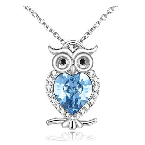 owl pendant necklace gift idea