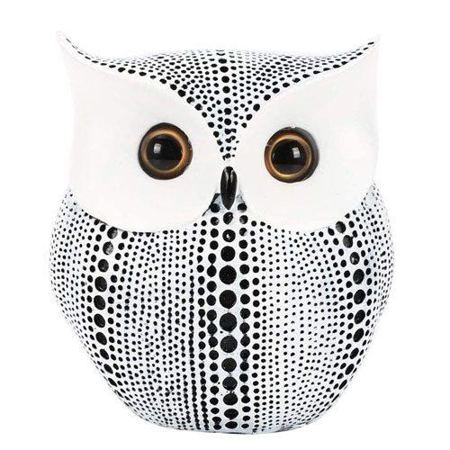 owl statue decoration