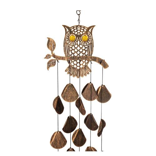 owl wind chimes decoration