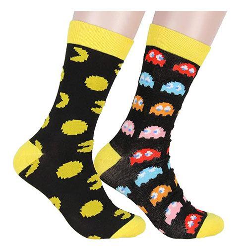 pac-man arcade socks