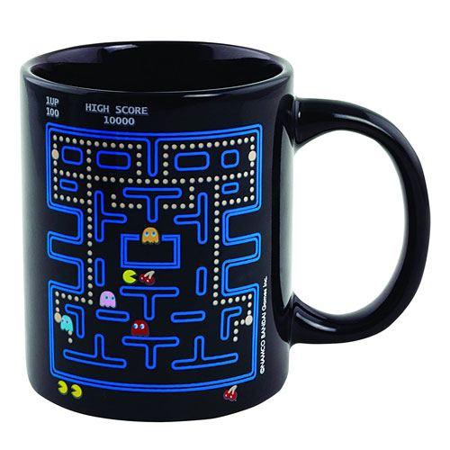 pac-man coffee mug gift