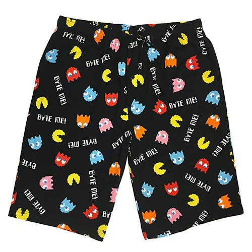 pac-man merchandise lounge shorts