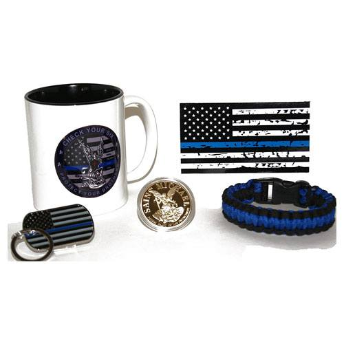 police gifts set collection