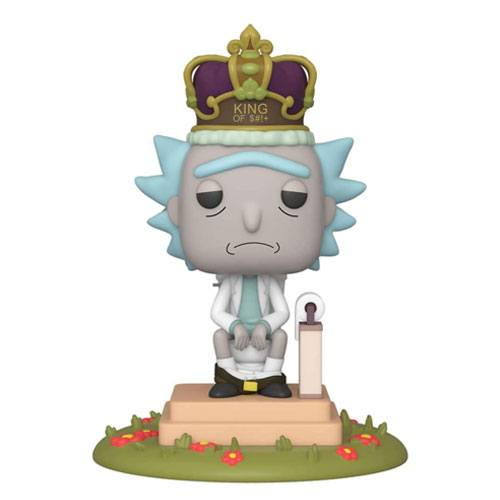 king of poop rick sanchez figurine