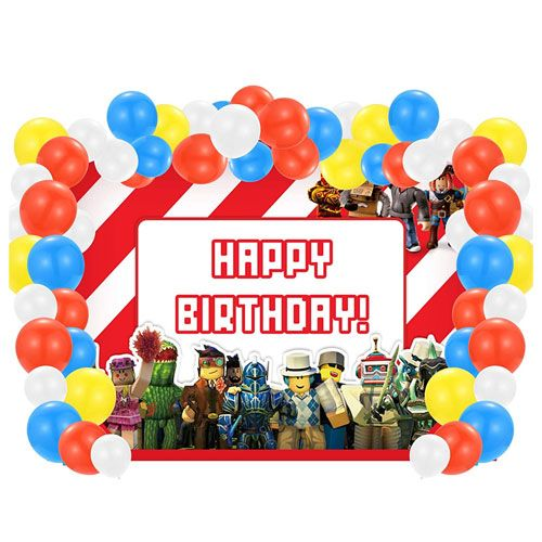 roblox birthday party supplies