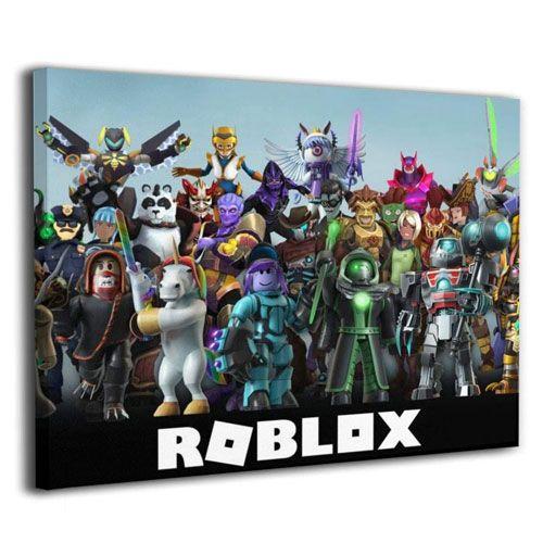 roblox figures wall art
