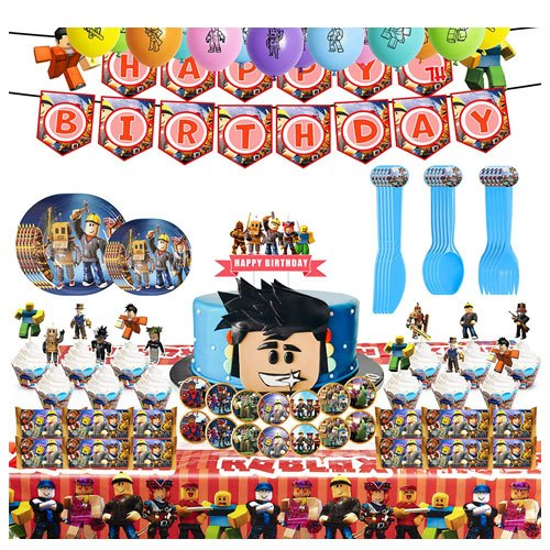 roblox party supplies set