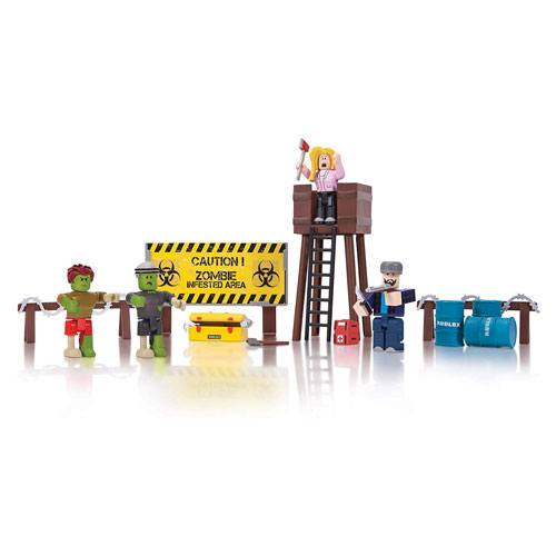roblox zombies playset toy