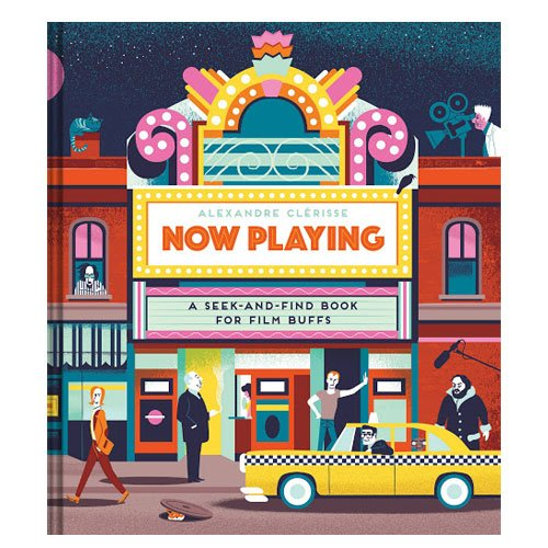 seek and find book for film buffs