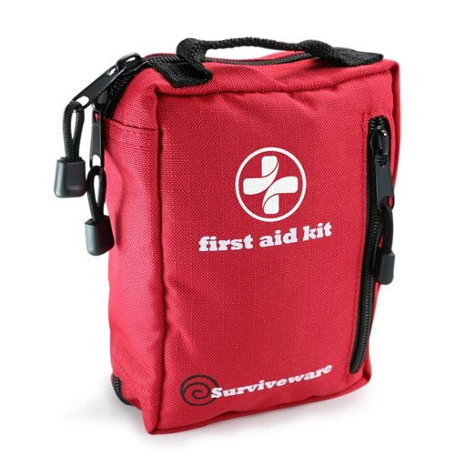 small first aid kit present