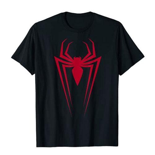 spiderman icon graphic t-shirt