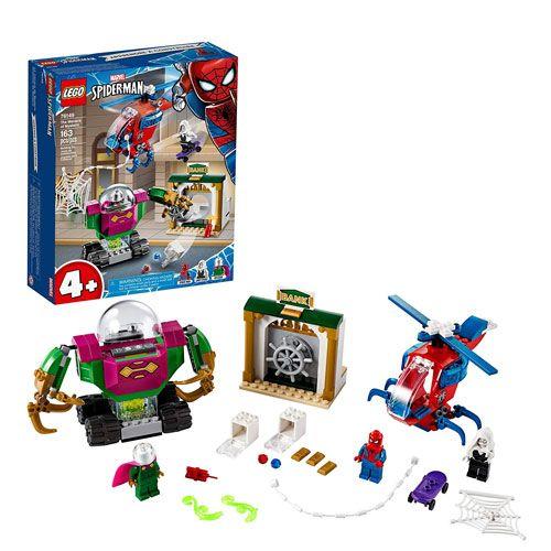 spiderman mysterio LEGO set