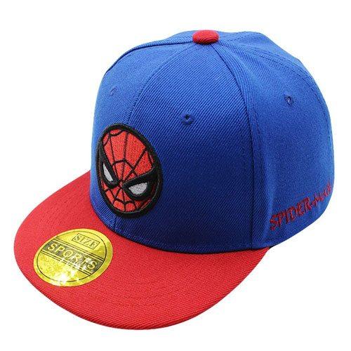 spiderman snapback baseball cap