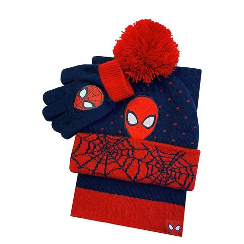 spiderman winter apparel set