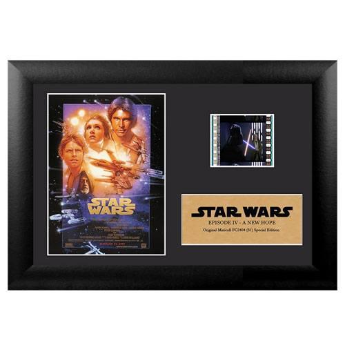 star wars film cell display present
