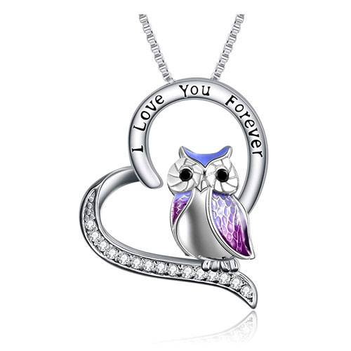 sterling silver owl pendant jewelry