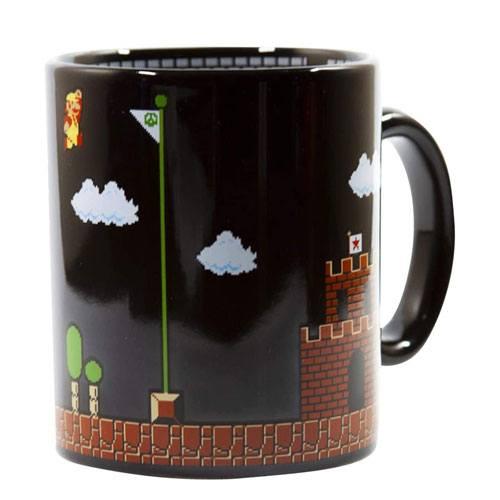 super mario coffee mug present