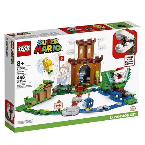 super mario LEGO fortress set