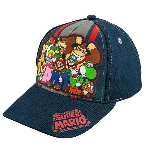 super mario merchandise baseball cap