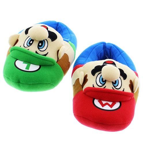 super mario slippers