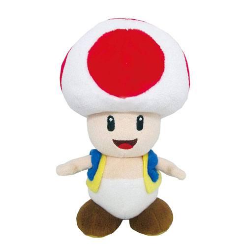 super mario toad plush