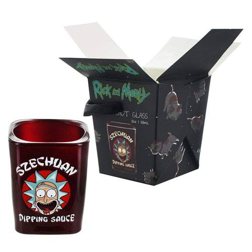 szechuan dipping sauce shot glass
