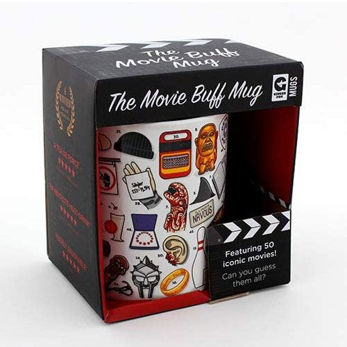 the movie buff mug gift