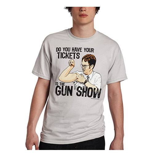 the office gun show merchandise