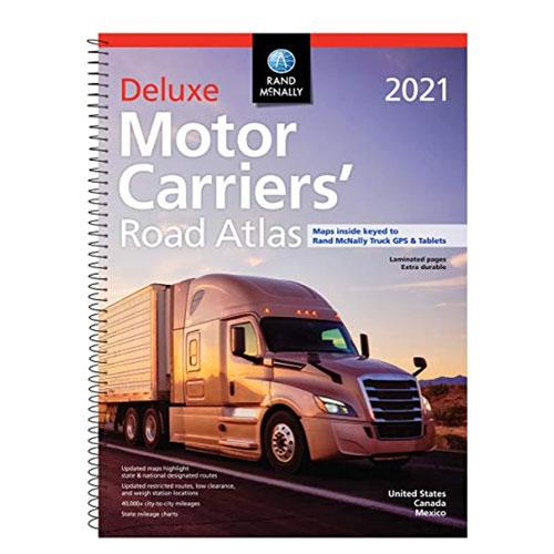 truckers road atlas 2021