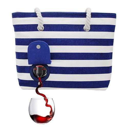 secret wine purse gift idea
