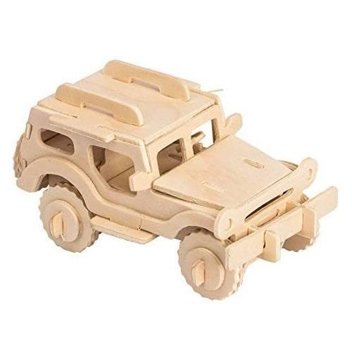 3d jeep puzzle