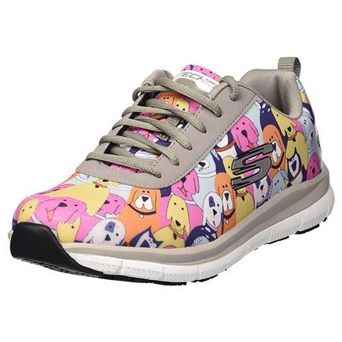 animal pattern healthcare sneakers