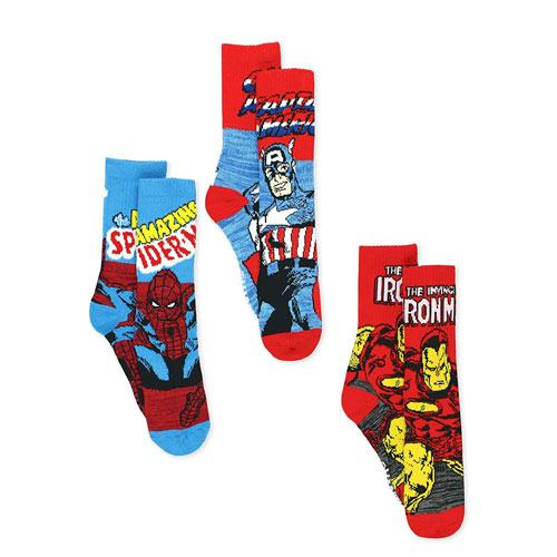 avengers comic book style socks