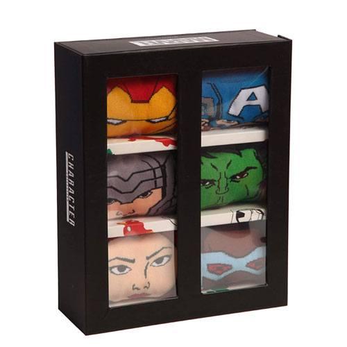 avengers socks set gift box