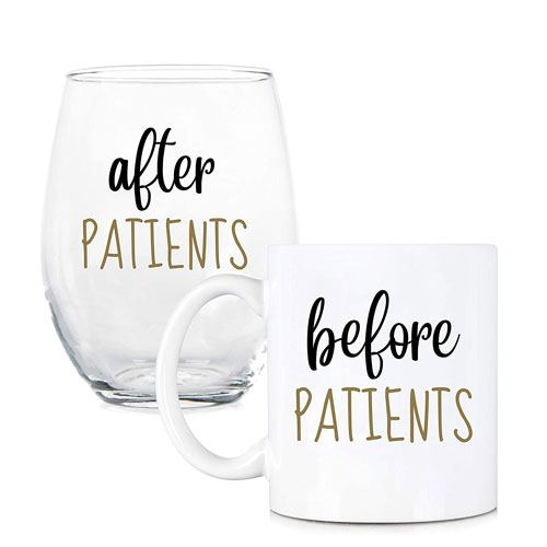 before after patients cups gift